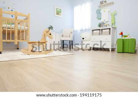 Shutterstock the image of parenting and baby room