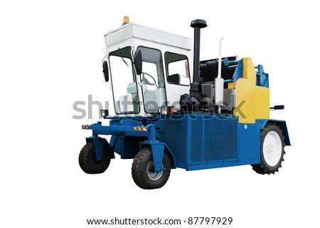 The image of potato combine under the white background