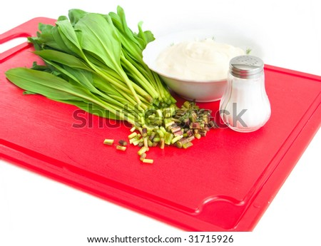 The image of the component for preparation of vitamin salad