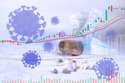 The impact of the coronavirus on the stock market and the world economy COVID-19 into the stock market, market plummeting, impact on the economy and trade tourism. Impact on the world market.