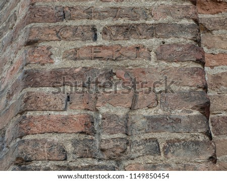 The imprint of the Devil legend tells that on the right side of the Basilica, imprinted on the bricks, there is what would seem the imprint of the devil's hoof.Basilica of Saint Anthony of Padua Italy #1149850454