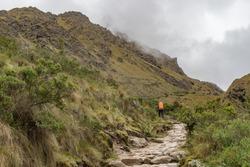 The Inca Trail 's potters, Machu Picchu, Peru,