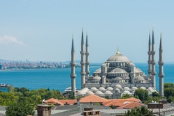 The incredible Blue Mosque of Istanbul.