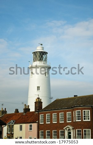 The inland lighthouse at Southwold, Suffolk