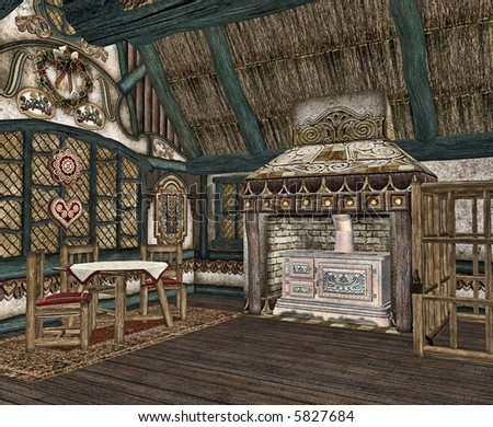 The Interior Of A Tiny Fairytale Cottage Interiors