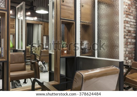 purchase the interior of modernorganic vintage natural hair salonbeauty parlor - Salon Modern Evintage