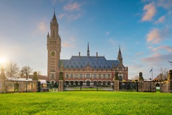 The International Court of Justice in the Peace Palace in Hague