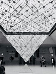 The Inverted Pyramid of Louvre
