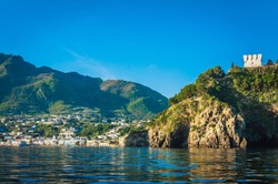 The Island of Ischia from the sea