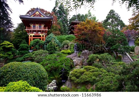 The Japanese Tea Garden in San Francisco, California, was an immensely popular feature of Golden Gate Park originally built as part of a sprawling World's Fair