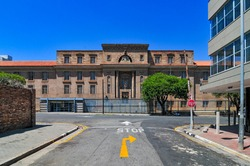 The Johannesburg Central Magistrate's Court building in Johannesburg, South Africa.