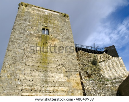 the keep, on the hill of San Cristobal in Estepa