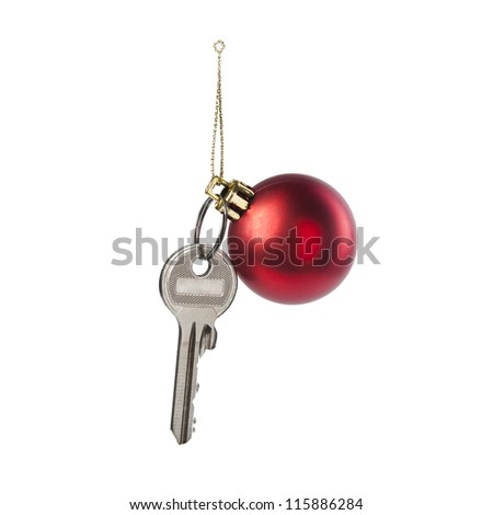 The key to the Christmas toy
