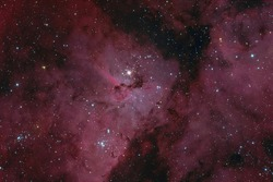 The Keyhole Nebula in the Constellation Carina