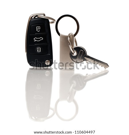 The keys from the house and the car
