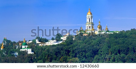 the Kiev-Pechersk Lavra - the most famous monastery of Ukraine and Kiev, in the list of UNESCO.