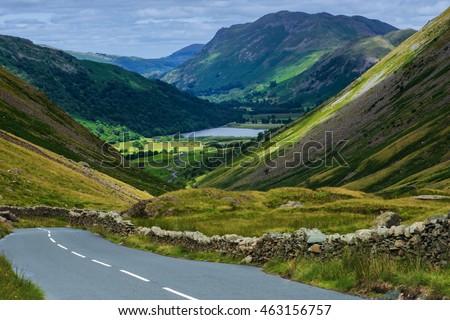 The Kirkstone Pass Inn Lake District ,England.