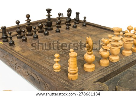 The knight is a piece in the game of chess It is normally represented by a horse\'s head and neck. Each player starts with two knights, which begin on the row closest to the player.