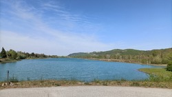 The lagoon that lies north of the Reno river near Bologna (Italy) is a large water reserve