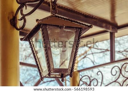 The lamp, hanging lantern #566198593