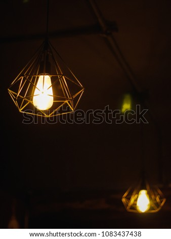 The Lamps In Bar