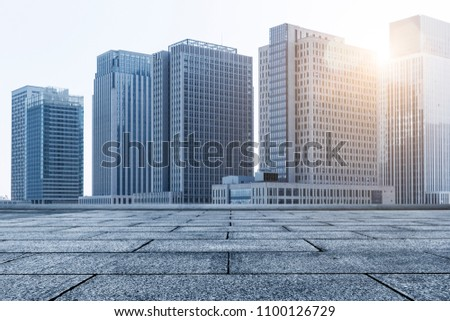 The landscape of skyscrapers #1100126729