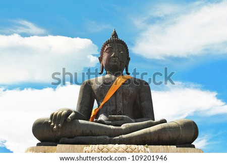 The largest bronze buddha statue in the world