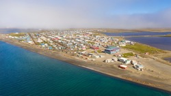 The largest city of the North Slope Borough in the U.S. state of Alaska and is located north of the Arctic Circle. It is one of the northernmost public communities in the world