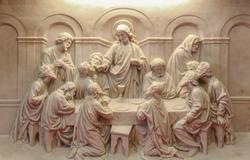 The Last supper sculpture