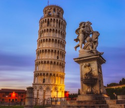 The Leaning Tower of Pisa is the campanile, or freestanding bell tower, of the cathedral of the Italian city of Pisa, known worldwide for its unintended tilt.
