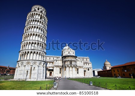 The Leaning Tower, Pisa, Italy