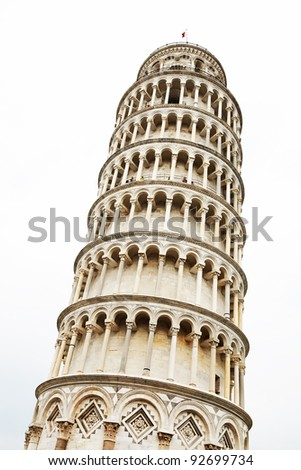 The Leaning Tower, Pisa, Italy, Europe