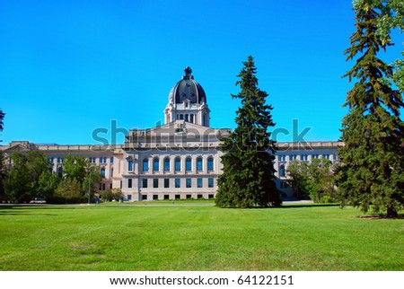 The Legislative Assembly of Saskatchewan in Regina city