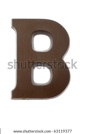 The letter B, special candy for the Sinterklaas celebration