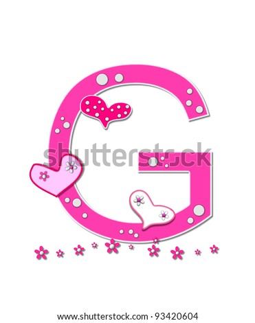 capitol U pink - /signs_symbol/alphabets_numbers/outlined ... |The Letter U In Pink