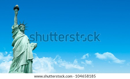 The Liberty Statue, New York