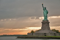 The Liberty statue, New York, USA