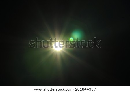 The light fair on background. - Shutterstock ID 201844339