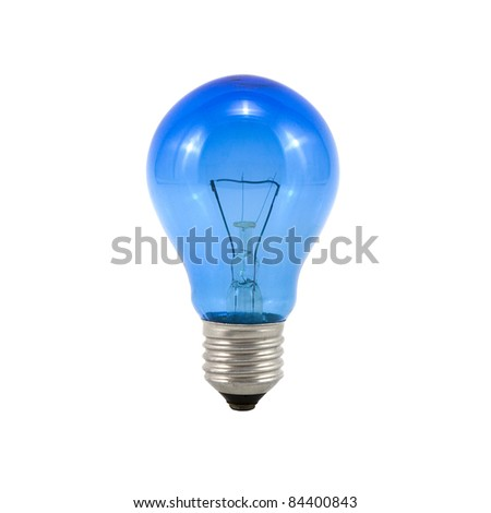 The lightbulb, eco and save energy concept