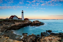 The lighthouse and the sea are more beautiful