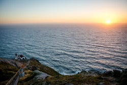 The Lighthouse at Point Reyes National Seashore in Olema, California U.S.A.