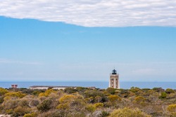 The lighthouse of Cape Sainte Marie, the southernmost point of Madagascar