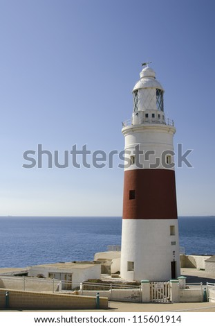 the lighthouse of gibraltar