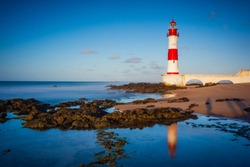 The lighthouse or beacon Itapuã Tip Itapuã is a lighthouse in Salvador, Bahia, Brazil. Is located on the beach Itapuã in Itapoan subdistrict, about 23 kilometers (14 mi) northeast are the Lighthouse