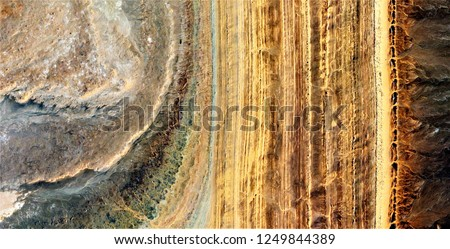 The line of life, tribute to Pollock, abstract photography of the deserts of Africa from the air, aerial view, abstract expressionism, contemporary photographic art, abstract naturalism,