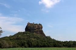The Lion Rock on Sri Lanka UNESCO World Heritage Site