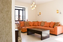 The living room furniture set