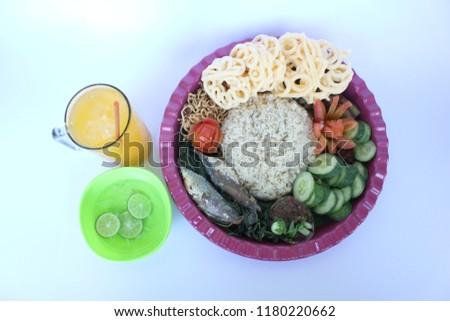 The liwet food #1180220662
