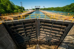 The Locks of Seneca - Cayuga Canal