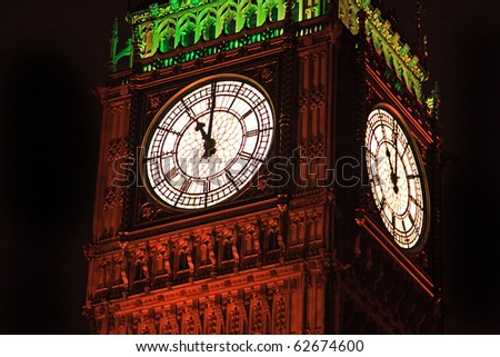 The London Big Ben. - stock photo